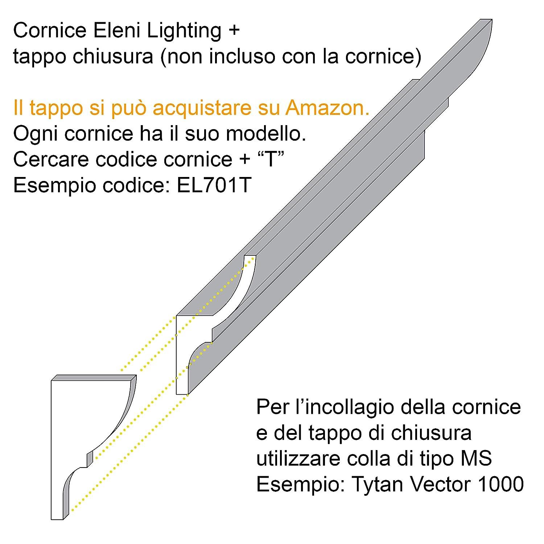 Eleni Lighting El112 Indirect Led Ceiling Light For Installation In Plasterboard Amazon De Beleuchtung