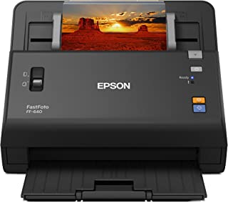 Epson FastFoto FF-640 High-Speed Photo Scanning System with Auto Photo Feeder (Renewed)