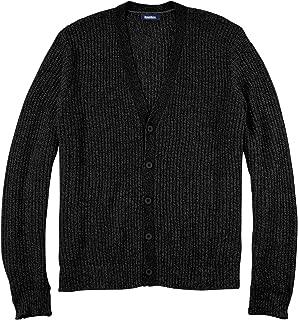 Men's Big & Tall Shaker Knit V-Neck Cardigan Sweater