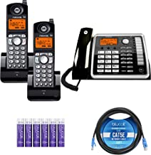 $169 » Motorola ML25260 2-Line Corded Phone with Digital Answering System Bundle with 2-Pack of ML25055 DECT 6.0 Cordless Handset...