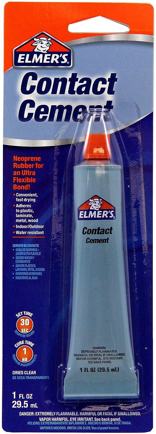 Elmer's E1014 Contact Cement 1-Ounce