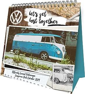VW Camper Vans Desk Easel Official 2019 Calendar - Desk Easel Format