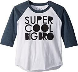 Vintage Jersey Cool Big Bro Tee (Little Kids/Big Kids)