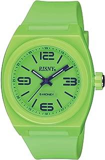 [リスニー]RISNY 腕時計 電子マネーEdy(エディ)搭載 グリーン RS-001M-06