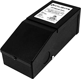 Dimmable Driver 60W (2.5A), Magnetic, 110V AC-24V DC Transformer, Low Voltage Power Supply for LED Strip Lights- Compatible w/Lutron & Leviton - for Kitchens, Cabinets, Bedrooms & More - USA Made