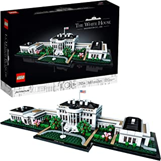 LEGO Architecture Collection: The White House 21054 Model Building Kit, Creative Building Set for Adults, A Revitalizing D...
