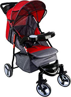 Baby Plus BP8761 Baby Strollers for Unisex, Red