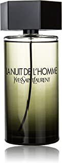 Yves Saint Laurent YSL L'Homme La Nuit Men Eau de Toilette EDT, 3.3 Fluid Ounce