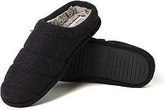 Dearfoams Asher Quilted Clog Slipper – Asher è uno zoccoli in memory foam, taglio imbottito