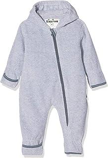 Playshoes unisex baby Fleece-Overall meliert sparkbyxor