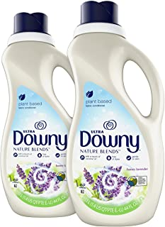 Sponsored Ad - Downy Nature Blends Fabric Conditioner (Fabric Softener), Honey Lavender, 44 Oz Bottles, 2 Pack, 104 Loads ...
