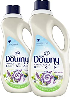 Downy Nature Blends Fabric Conditioner (Fabric Softener), Honey Lavender, 44 Oz Bottles, 2 Pack, 104 Loads Total