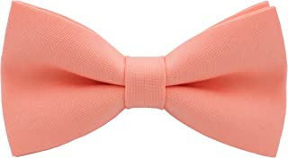 b46249e5fe33 Classic Pre-Tied Bow Tie Formal Solid Tuxedo for Adults & Children, by Bow