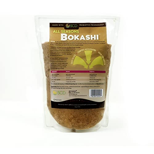 Amazon.com : SCD Probiotics All Seasons Bokashi - Compost ...