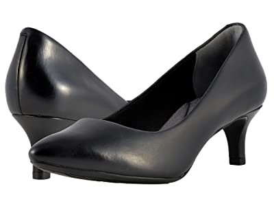 Rockport Total Motion Kalila Pump (Black Calf) High Heels