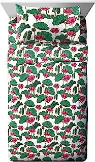 Jay Franco Disney Mulan Umbrella Twin XL Sheet Set - 3 Piece Set Super Soft and Cozy Kid's Bedding - Fade Resistant Microf...