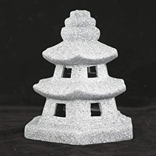 Miniature Ceramic Pagoda/Lantern for Bonsai and Zen Garden - 5