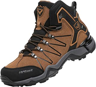 Men's Mid Trekking Hiking Boots Outdoor Hiker Winter Boots