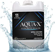 5 Gallon AQUA-X 11 Clear, Penetrating Concrete Sealer – Mold and Mildew Inhibitor