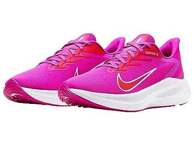 Nike Zoom Winflo 7 (Fire Pink/Summit White/Ember Glow) Women