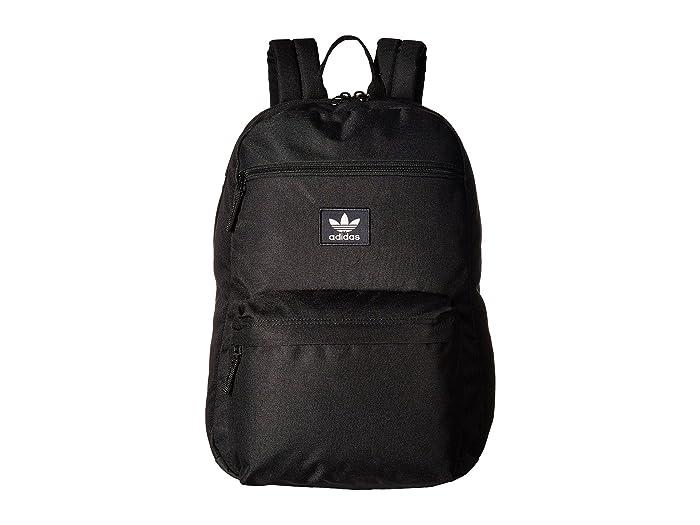 adidas Originals National 3 Stripe Black Backpack | Zumiez