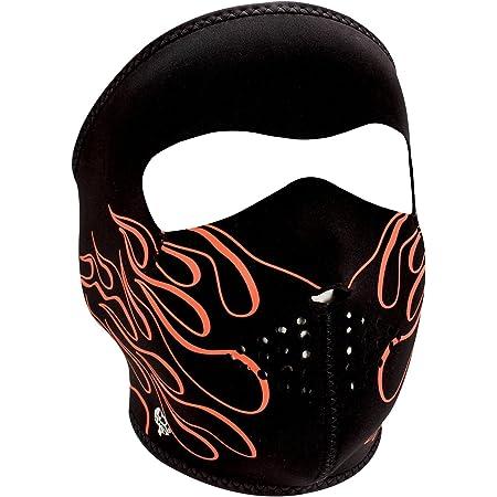 Zanheadgear WNFM045 Neoprene Full Face Mask, Orange Flame