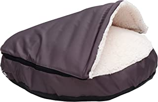 long rich Durable Oxford to Sherpa Pet Cave and Round Pet Bed, 25