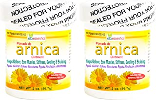 Arnica Ointment Pomade Treatment 2 oz Paraben Free 2 Pack