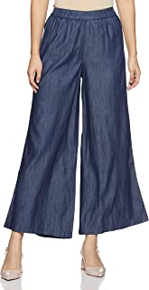STOP by Shoppers Stop Womens Slub Palazzos