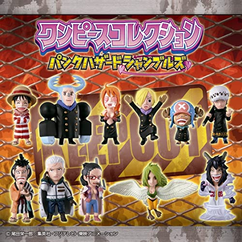 ON BOX 12 pieces one piece collection punk hazard Shambles (Candy Toys & gum) (japan import)