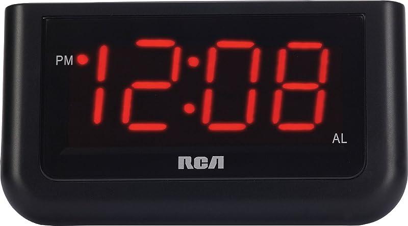 RCA Digital Alarm Clock With Large 1 4 Display