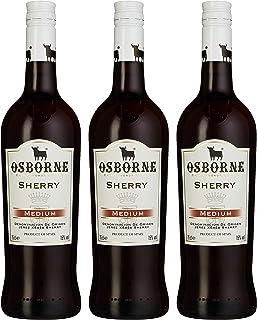 Osborne Medium Sherry, 15 % vol, 3er Pack 3 x 750 ml