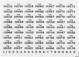 レボリューションファクトリーNゲージワキ10000車番インレタ  RLF4307