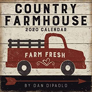 Country Farmhouse 2020 Wall Calendar - coolthings.us