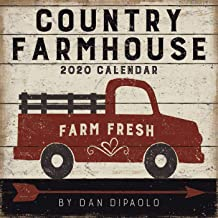 Country Farmhouse 2020 Wall Calendar