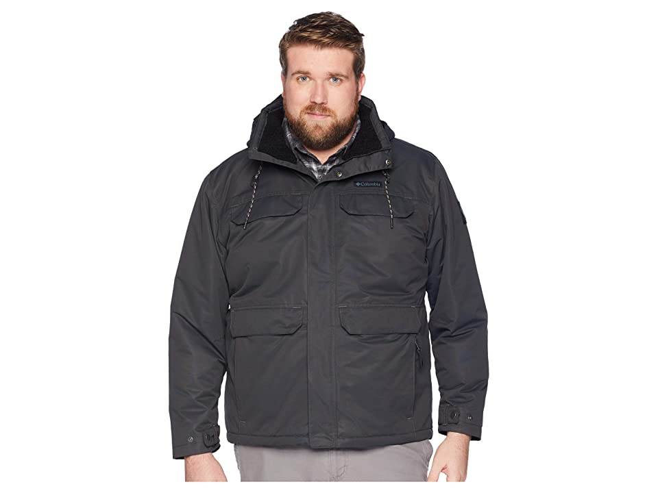 Columbia Big Tall South Canyontm Lined Jacket (Shark/Black) Men