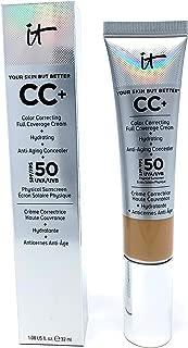 It Cosmetics CC+ Cream SPF 50 (Neutral Medium) Full Coverage, 1.08 Ounces