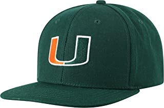 Top of the World NCAA Men's Flat Brim Fitted Hat Team Icon
