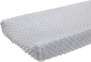 Carter's Super Soft Changing Pad Cover, Gray