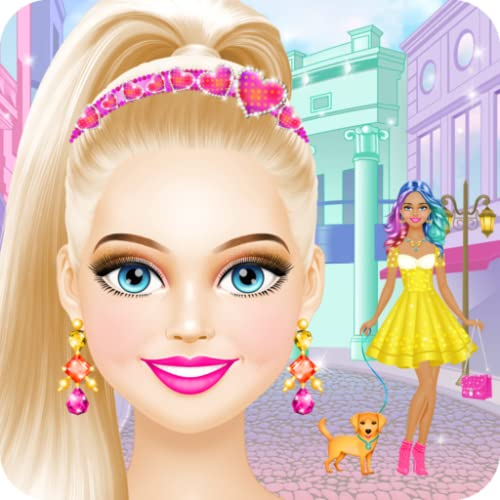 Fashion Girl Makeover - Spa, Makeup and Dress Up Game for Kids