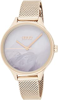 Hugo Boss Women's Grey Dial Ionic Plated Carnation Gold Steel Watch - 1540060