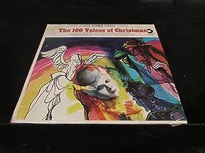 THE 100 VOICES OF CHRISTMAS VINYL LP RECORD ALBUM