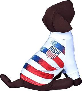 USA Soccer Team Dog T-Shirt Dog Shirt Dog Jersey Futbol Soccer Qatar Worldcup