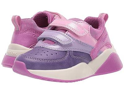 Geox Kids Jr Sinead 1 (Toddler) (Fuchsia/Violet) Girls Shoes