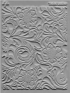"""JHB International Inc Great Create Lisa Pavelka Individual Texture Stamp 4.25""""X5.5"""" 1/Pkg-Tooled Leather"""