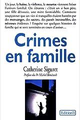 Crimes en famille Format Kindle