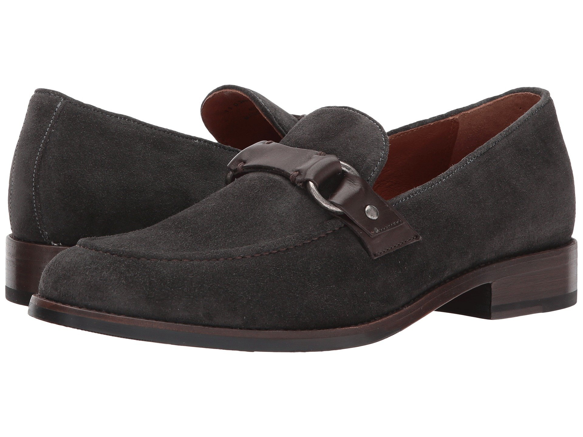 Frye  , CHARCOAL SOFT OILED SUEDE