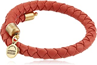 Alex and Ani Coastal Odyssey Braided Leather Wrap Bracelet