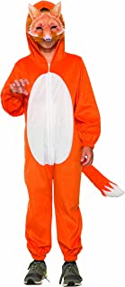 Childrens Fox Jumpsuit with Mask