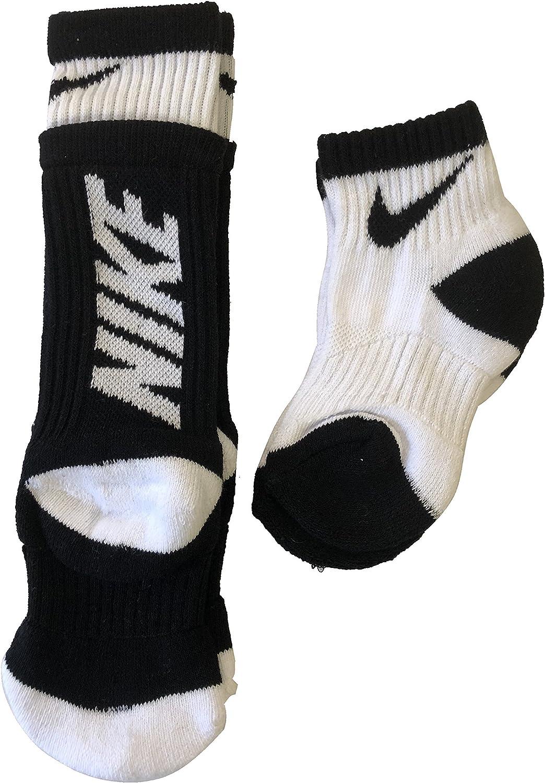 Nike Boy's Quarter & Crew Socks 2 Pack